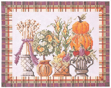 Autumn Topiaries Stitch Guide