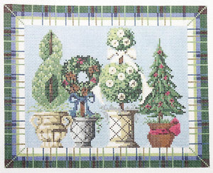 Winter Topiaries Stitch Guide