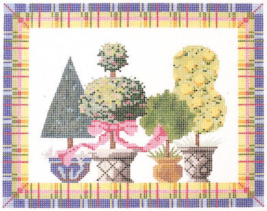 Springtime Topiaries Stitch Guide