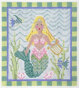 Blonde Diva Mermaid Stitch Guide