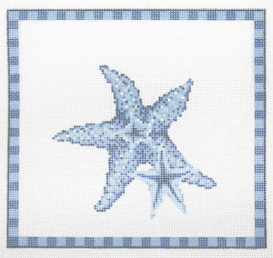 Starfish in Ocean Blue