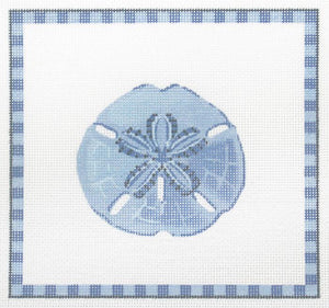 Sand Dollar in Ocean Blue