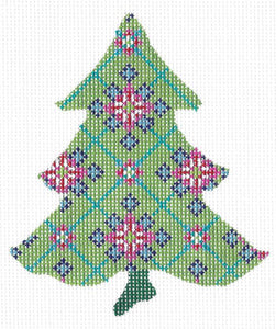 Scandanavian Snowflake Tree Stitch Guide