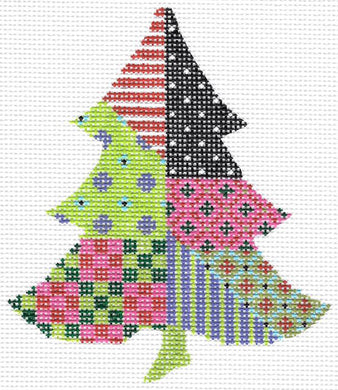 Razzle & Dazzle Crazy Tree Stitch Guide