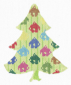 Jingle Bell Tree Stitch Guide