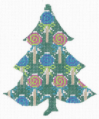 Tutti Fruity Lollipop Tree Stitch Guide