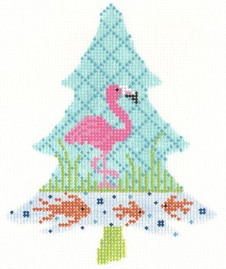 Tropics Flamingo Tree Thread Kit