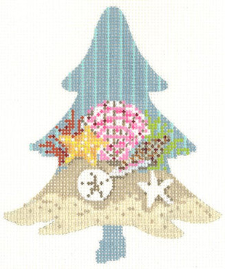 Seashells at the Shore Tree Thread Kit