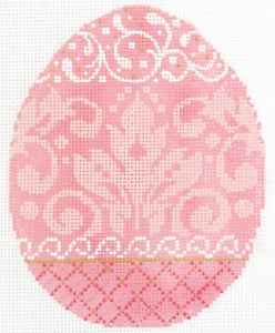 Strawberry Damask Egg