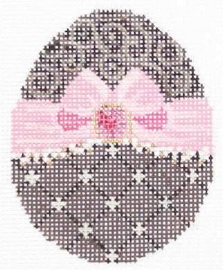 Chocolate Ribbon Egg Embellishment Kit