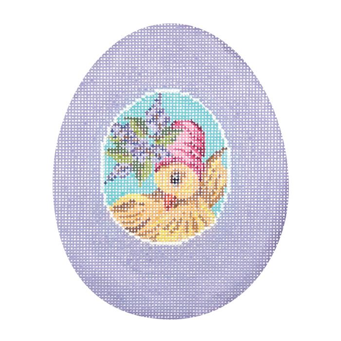 Lavender Chick Sugar Egg