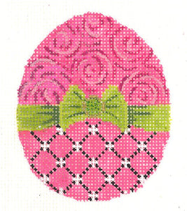 Fuchsia Ribbon Egg