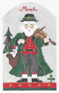 March Santa Stitch Guide