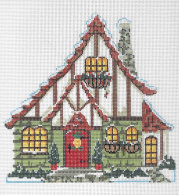 Pineapple Cottage Stitch Guide