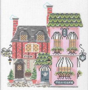 Tea Cafe & Fish Haus Stitch Guide
