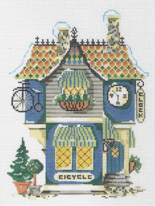 Village Bike & Clock Shoppe Stitch Guide