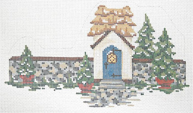 Village Gate House Stitch Guide