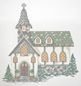 Old Stone Church Stitch Guide