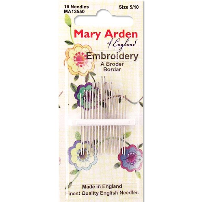 mary arden embroidery