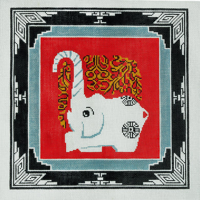 Elephant with Border