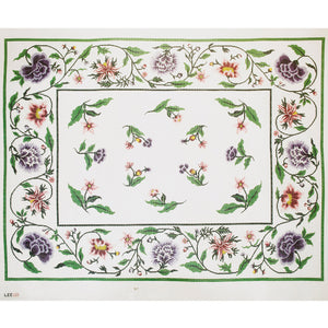 Jacobean Purple & Pink Rug