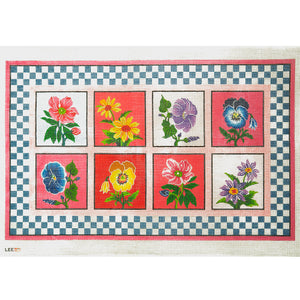 Eight Flowers Rug