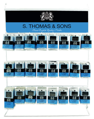 S. Thomas Needle Display Rack