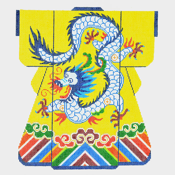 Dragon on Yellow Large Kimono