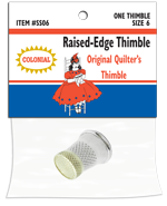 raised edge thimble