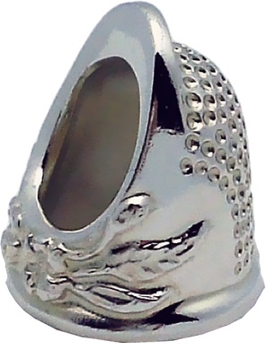 RX STERLING SILVER THIMBLE
