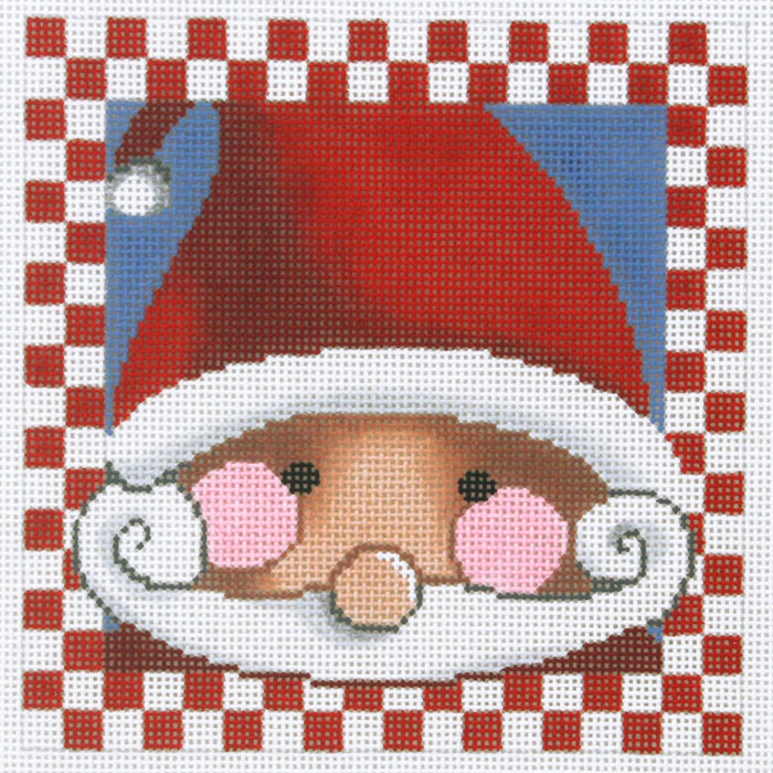Santa with Rosy Cheeks - Checkers
