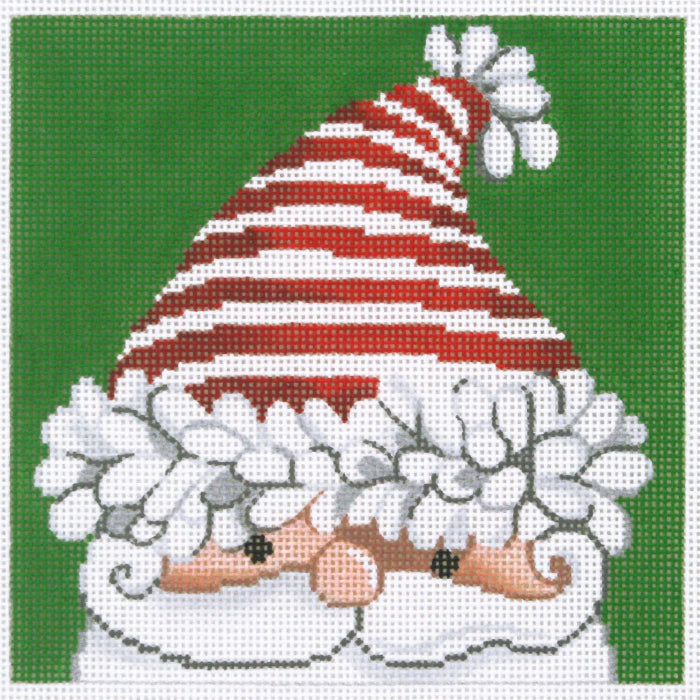 Santa with Striped Hat
