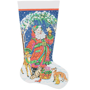 Santa's Animals Stocking