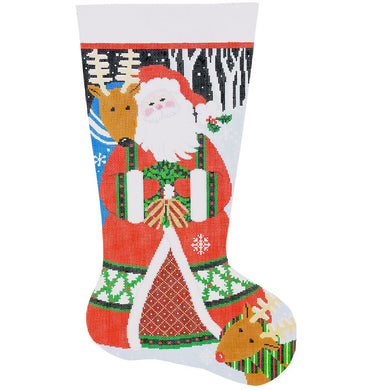 Loving Santa Stocking