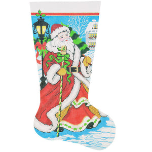 Old World Santa Stocking