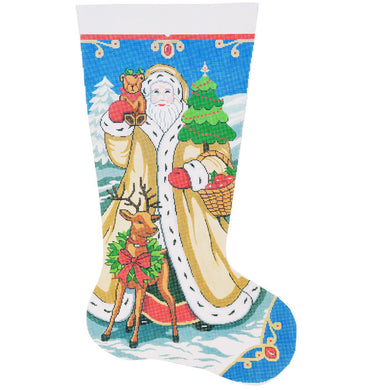 Elegant Santa #2 Stocking