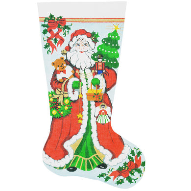 Happy Santa Stocking