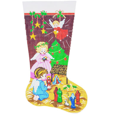 Christmas Nativity Stocking