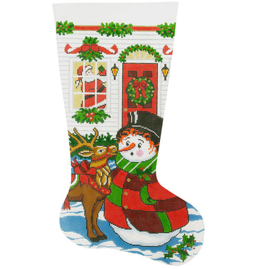 Reindeer Antics Stocking