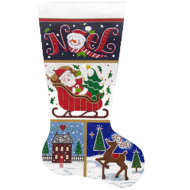 Noel Patch Stocking
