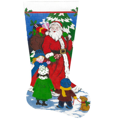 Santas Got Candy Stocking