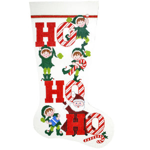 Ho Ho Ho Stocking