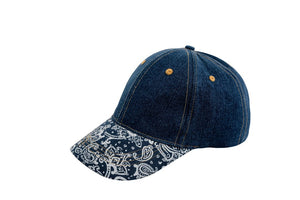 Garden Girl Denim Cap