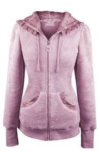 Teddy Fleece Jacket Classic Pink
