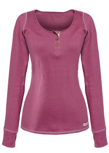 Long Sleeve Top Classic Plum