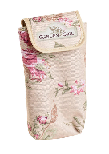 Garden Girl Phone Pocket