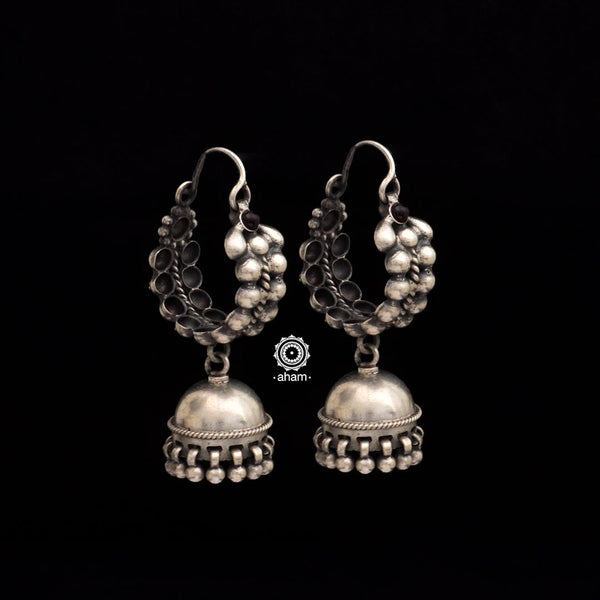 Silver Earring in 92.5  an ode to the glorious state of Rajasthan