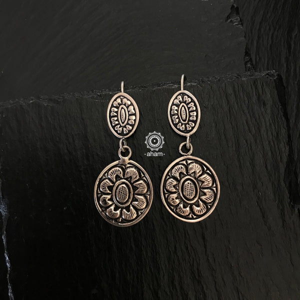 Mewad Light Weight Silver Chitai Earring