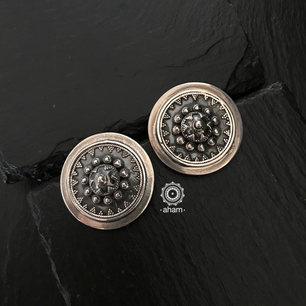 92.5 sterling silver ear studs. Great for everyday and workwear