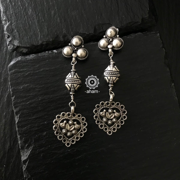 everyday wear light weight silver earring